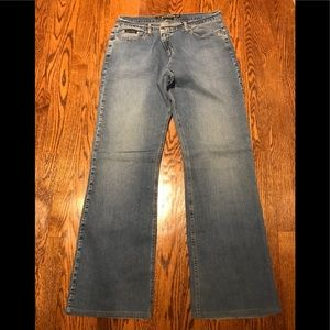 DKNY So Low Lita Stretch Bootcut Jeans sz 12R